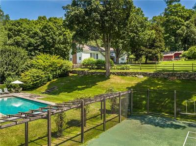 Pound Ridge Single Family Home For Sale: 57 Fancher Road