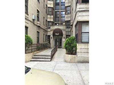 Co-Operative Sold: 250 East 178th Street #6A