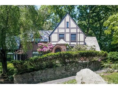 Dobbs Ferry Single Family Home For Sale: 196 Judson Avenue