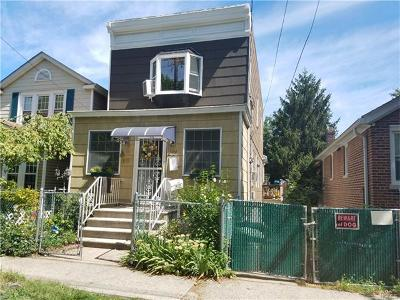 Bronx NY Single Family Home Sold: $485,000