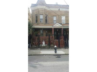 Bronx County Multi Family 2-4 For Sale: 881 Faile Street