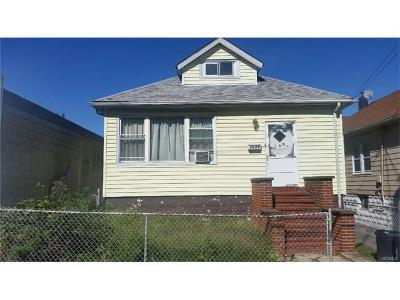 Bronx NY Single Family Home Sold: $305,000