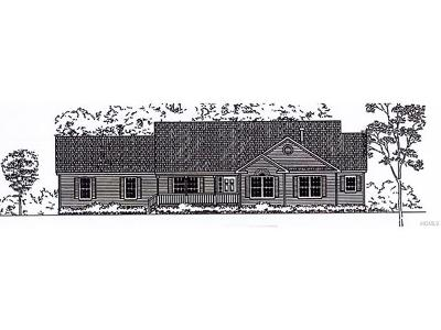 Goshen Single Family Home For Sale: Lot #20 Creamery Valley Estates