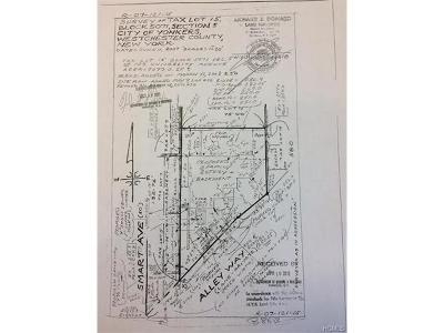 Yonkers Residential Lots & Land For Sale: 103 University Avenue