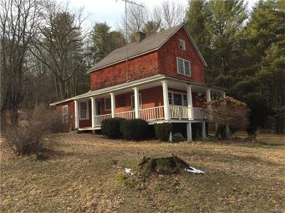 Sparrowbush Single Family Home For Sale: 39 Old Forestburg Road