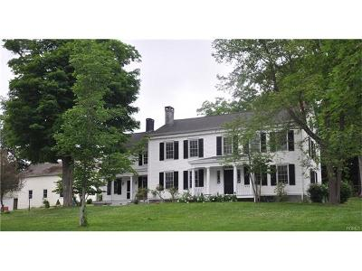 Millbrook Single Family Home For Sale: 3231 Sharon Turnpike