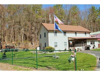 Cuddebackville Single Family Home For Sale: 3 Delaware And Hudson Drive