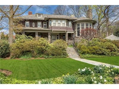 Bronxville Single Family Home For Sale: 7 Valley Road