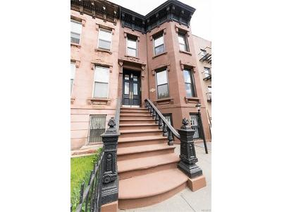 Brooklyn Multi Family 2-4 For Sale: 579 Monroe Street
