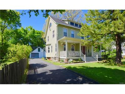 Nyack Single Family Home For Sale: 137 Castle Heights Avenue