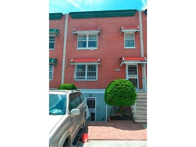 Bronx Multi Family 2-4 For Sale: 654 East 180th Street