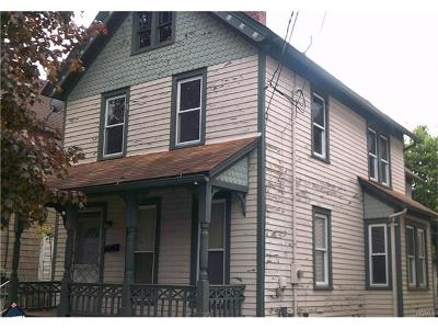 Port Jervis Single Family Home For Sale: 101 Ball Street