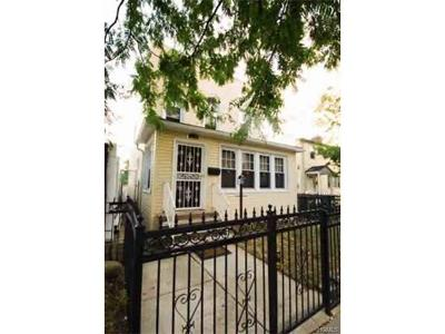 Bronx Single Family Home For Sale: 1830 Lacombe Avenue