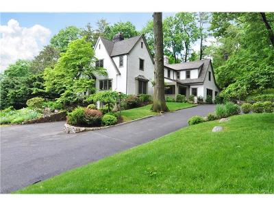 Dobbs Ferry Single Family Home For Sale: 1 Myrtle Avenue