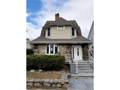 Yonkers Single Family Home For Sale: 3 Dudley Place
