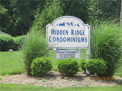 Condo/Townhouse For Sale: 115 Pipetown Hill Road