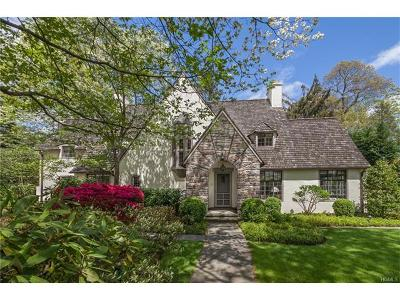 Bronxville Single Family Home For Sale: 4 High Road