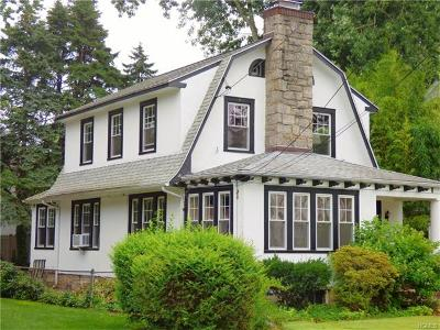 Scarsdale NY Single Family Home For Sale: $729,000