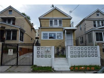 Bronx Single Family Home For Sale: 615 Leland Avenue