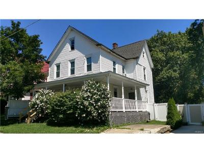 Walden NY Single Family Home Sold: $155,000