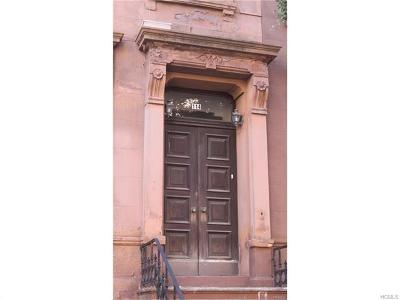 New York Multi Family 2-4 For Sale: 114 West 130th Street