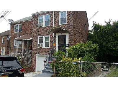 Bronx Single Family Home For Sale: 1676 Bussing Avenue