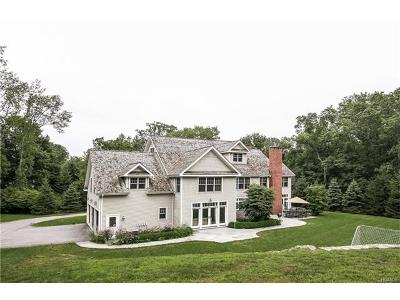 Pound Ridge Single Family Home For Sale: 124 High Ridge Road