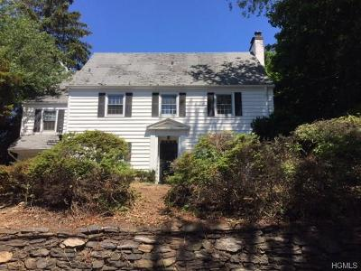 Bronxville Single Family Home For Sale: 4 Hathaway Road