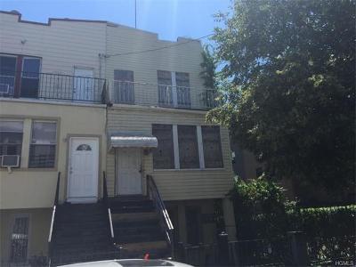 Bronx Multi Family 2-4 For Sale: 662 Jefferson Place