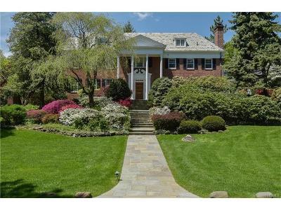 Bronxville Single Family Home For Sale: 3 Beechwood Road