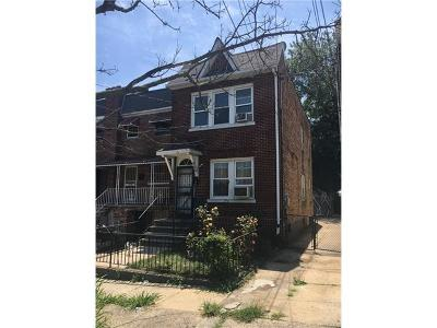 Bronx NY Single Family Home Sold: $378,000