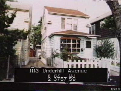 Single Family Home For Sale: 1113 Underhill Avenue