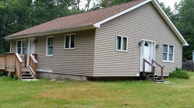 Glen Spey Single Family Home For Sale: 25 Oneida Trail