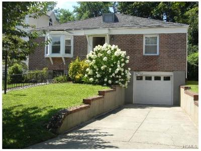 Yonkers Single Family Home For Sale: 93 Sunnyside Drive