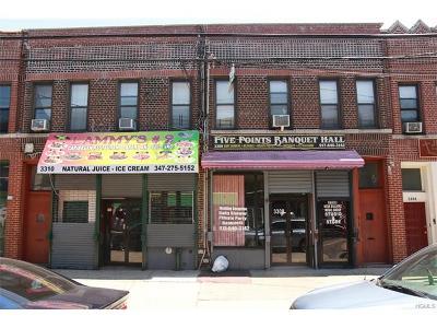 Bronx Multi Family 2-4 For Sale: 3308-10 White Plains Road