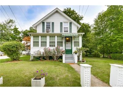 Rockland County Single Family Home For Sale: 120 6th Street