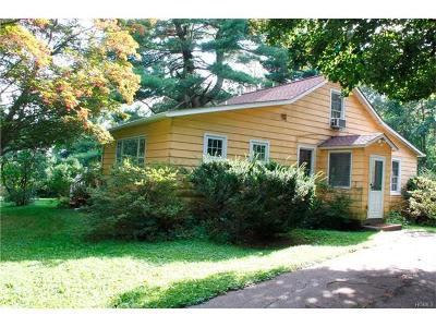 Single Family Home For Sale: 301 Spook Rock Road