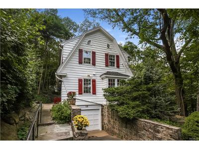 Dobbs Ferry Single Family Home For Sale: 68 Allen Street