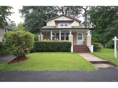 Rockland County Single Family Home For Sale: 37 Boulevard
