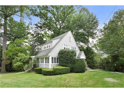 Scarsdale Single Family Home For Sale: 20 Glenwood Road