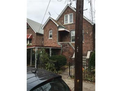 Bronx Single Family Home For Sale: 4224 Bruner Avenue