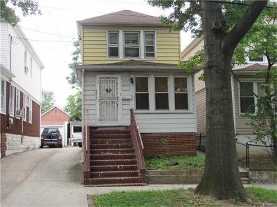 Bronx Single Family Home For Sale: 4378 Grace Avenue