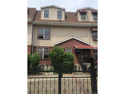 Bronx Multi Family 2-4 For Sale: 1227 Bryant Avenue #2