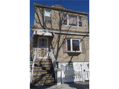 Bronx Multi Family 2-4 For Sale: 1022 Calhoun Avenue