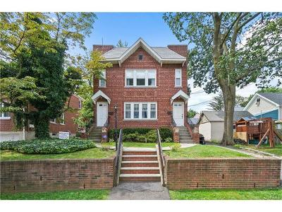Yonkers Multi Family 2-4 For Sale: 22-24 Chamberlin Avenue