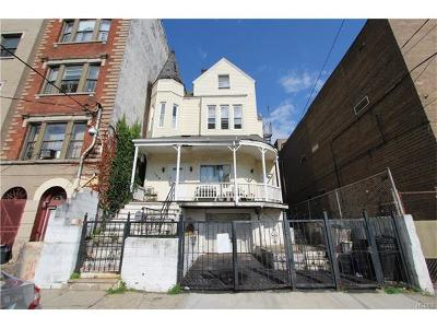 Westchester County Multi Family 2-4 For Sale: 154 Woodworth Avenue