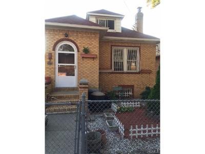 Bronx Single Family Home For Sale: 3033 Hone Avenue