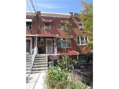 Bronx Single Family Home For Sale: 3341 Eastchester Road