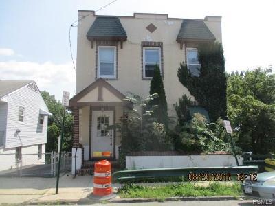 Yonkers Multi Family 2-4 For Sale: 134 Ridge Avenue