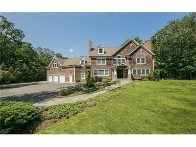 Pound Ridge Single Family Home For Sale: 18 East Kinnicut Road